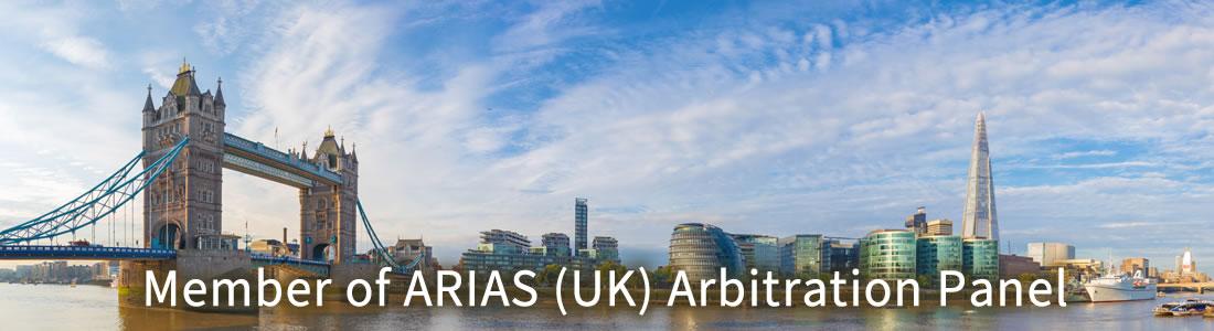Member of ARIAS (UK) Arbitration Panel